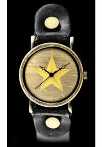Czarny zegarek NoName retro