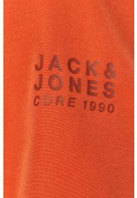 Kurtka Jack & Jones z kapturem, casualowa, gładkie