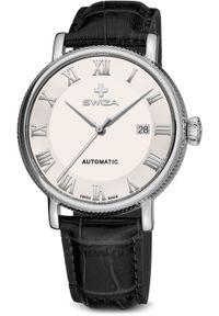 Zegarek Swiza Zegarek męski Alza Auto SST biało-czarny (WAT.0156.1001). Kolor: czarny, biały, wielokolorowy