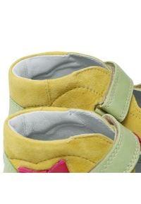 Bartek - Sandały BARTEK - 16686-980 Żółty. Kolor: żółty. Materiał: skóra, zamsz. Sezon: lato. Styl: wakacyjny, młodzieżowy