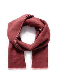 Czerwony szalik Pierre Cardin