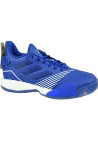 Wielokolorowe buty do koszykówki Adidas z cholewką, w kolorowe wzory