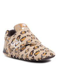 Brązowe buty sportowe New Balance New Balance 574