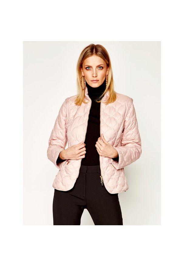 Różowa kurtka przejściowa Luisa Spagnoli