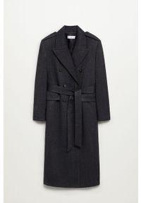 Szary płaszcz mango bez kaptura, casualowy, na co dzień #9