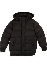 Czarna kurtka puchowa DKNY