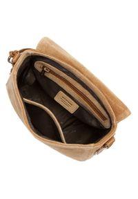 Wittchen - Damska listonoszka saddle bag z zamszu. Wzór: haft. Dodatki: z haftem. Materiał: zamszowe, skórzane. Styl: elegancki #2