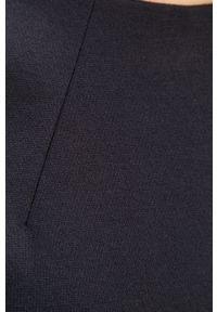 Niebieska sukienka TOMMY HILFIGER z krótkim rękawem, prosta, casualowa, na co dzień