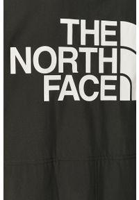 Czarna kurtka The North Face na co dzień, bez kaptura