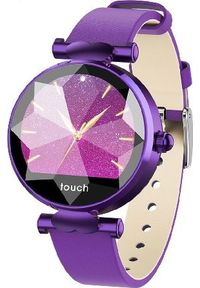 Fioletowy zegarek Frahs smartwatch