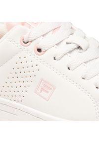 Fila - Sneakersy FILA - Crosscourt 2 Nt Kids 1011115.94F M White/Coral Blush. Kolor: biały. Materiał: skóra ekologiczna, materiał