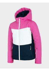 Wielokolorowa kurtka narciarska 4f na zimę