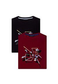 T-shirt Lancerto z aplikacjami