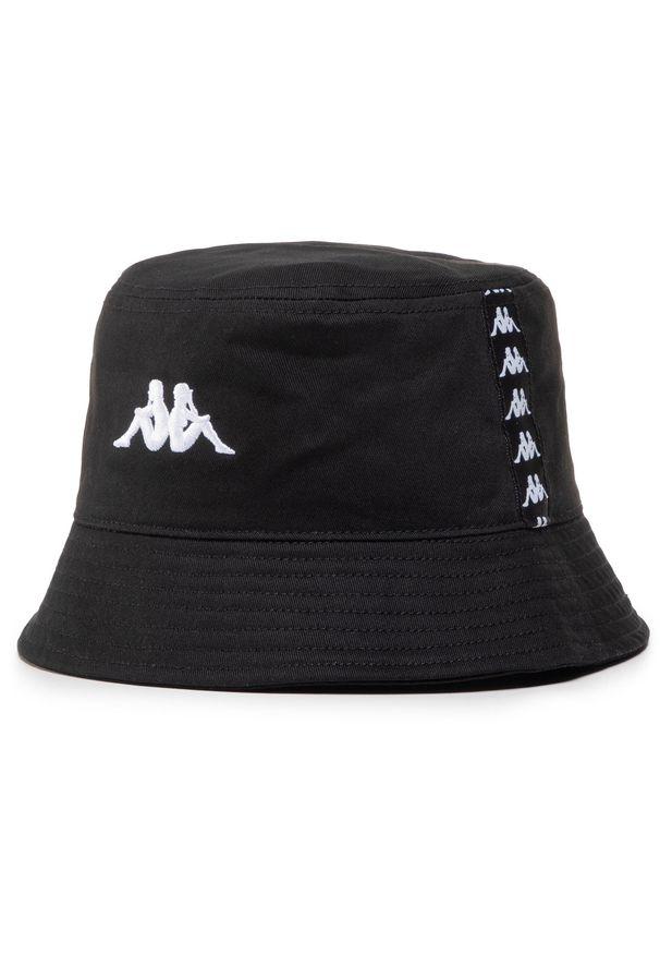 Kappa - Bucket KAPPA - Gunther 307114 Caviar 4006. Kolor: czarny. Materiał: materiał, bawełna