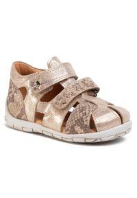Złote sandały Froddo