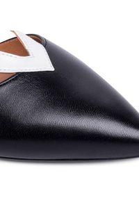 Czarne sandały Szydłowski