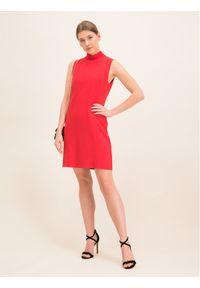 iBlues Sukienka koktajlowa 72262596 Czerwony Regular Fit. Kolor: czerwony. Styl: wizytowy #5