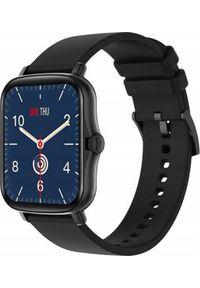 Smartwatch Bakeeley Y20 Czarny. Rodzaj zegarka: smartwatch. Kolor: czarny