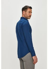 Niebieska koszula Calvin Klein Jeans na co dzień, długa