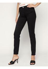 Czarne jeansy slim Trussardi Jeans