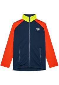 Rossignol Bluza Fz Clim RLIYL01 Granatowy Regular Fit. Kolor: niebieski