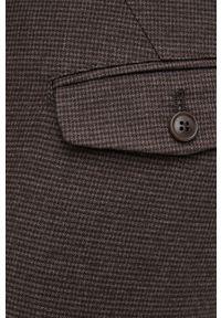 Drykorn - Spodnie Kill. Okazja: na co dzień. Kolor: brązowy. Materiał: bawełna. Styl: casual