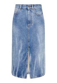 Niebieska spódnica jeansowa MSGM