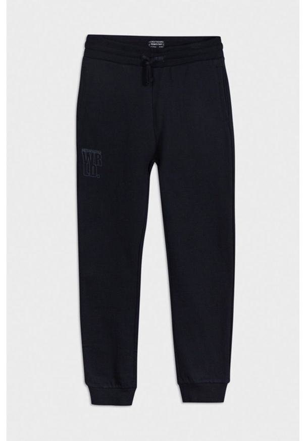 Niebieskie spodnie dresowe Mayoral