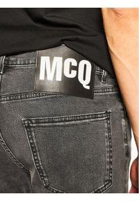 Szare jeansy MCQ Alexander McQueen