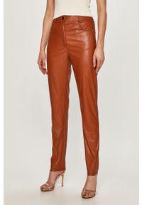 Spodnie materiałowe Silvian Heach z podwyższonym stanem, klasyczne