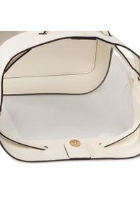 Beżowa torebka worek Lauren Ralph Lauren #5