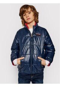 Pepe Jeans Kurtka puchowa Cas PB401013 Czerwony Regular Fit. Kolor: czerwony. Materiał: puch