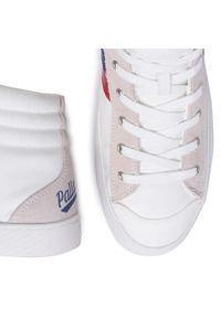 Beżowe sneakersy Palladium na co dzień, z cholewką