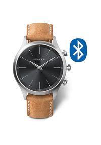 Kronaby Wodoodporny podłączony zegarek Sekel A1000-3123. Styl: retro