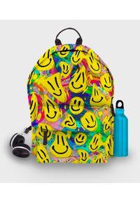 MegaKoszulki - Plecak fullprint Acid Smile. Materiał: materiał. Wzór: nadruk