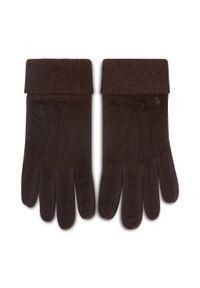 Brązowe rękawiczki Polo Ralph Lauren