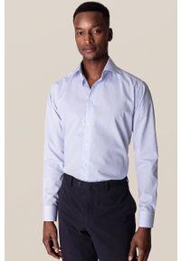Eton - ETON - Koszula. Typ kołnierza: kołnierzyk klasyczny. Kolor: niebieski. Materiał: tkanina. Długość rękawa: długi rękaw. Długość: długie. Styl: klasyczny