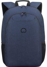 "Plecak Delsey Plecak na laptop 17,3"" DELSEY Esplanade Granatowy uniwersalny. Kolor: niebieski"
