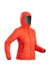 FORCLAZ - Kurtka trekkingowa damska zimowa Forclaz TREK 100 -5°C. Materiał: poliamid, materiał, poliester. Sezon: zima