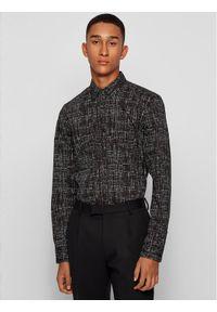 BOSS - Boss Koszula Ronni 50445782 Czarny Slim Fit. Kolor: czarny