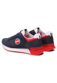 Colmar - Sneakersy COLMAR - Travis Boost 134 Navy/Red. Okazja: na co dzień. Kolor: niebieski. Materiał: zamsz, materiał, skóra. Szerokość cholewki: normalna. Styl: casual, sportowy #6