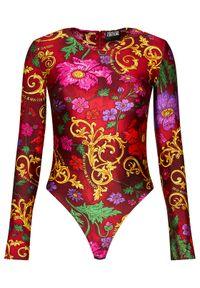 Czerwona bluzka body Versace Jeans Couture