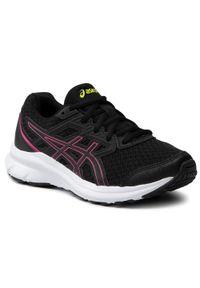 Asics - Buty ASICS - Jolt 3 Gs 1014A203 Black/Hot Pink 004. Kolor: czarny. Materiał: materiał. Szerokość cholewki: normalna. Styl: młodzieżowy