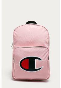 Różowy plecak Champion z nadrukiem