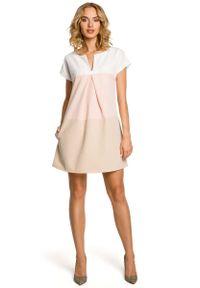 Sukienka mini MOE trapezowa