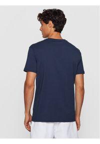BOSS - Boss T-Shirt Rn 50437367 Granatowy Slim Fit. Kolor: niebieski