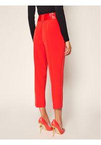 Czerwone spodnie materiałowe Guess