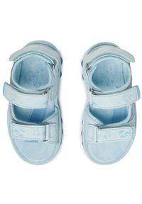 Niebieskie sandały Frozen