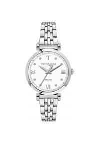 Biały zegarek Trussardi Jeans elegancki
