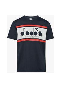 Koszulka męska Diadora Spectra OC 176632. Materiał: materiał, bawełna. Długość rękawa: krótki rękaw. Długość: krótkie